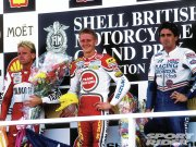 Schwantz, Rainey & Doohan podium